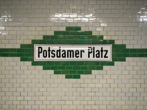 Berlin, 2016 | Potsdamer Platz subway