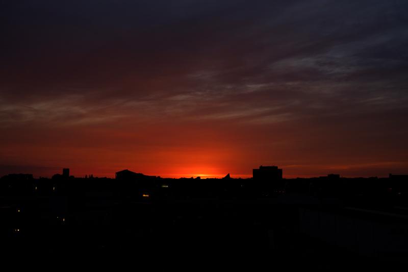 Assen, 2017 | Red sky