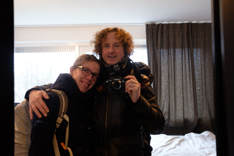 Amsterdam, 2017   Me & Myrte
