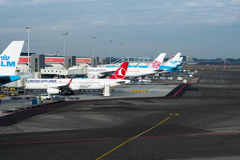 Schiphol Airport, 2017