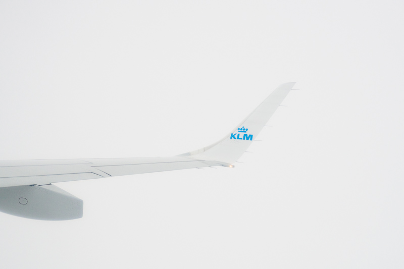 KLM, 2017   Up in the Clouds