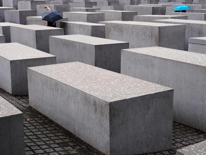Berlijn, 2016 Memorial to the Murdered Jews of Europe