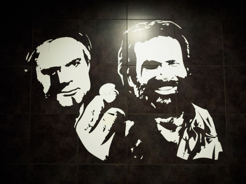 Berlijn, Bud Spencer and Terence Hill